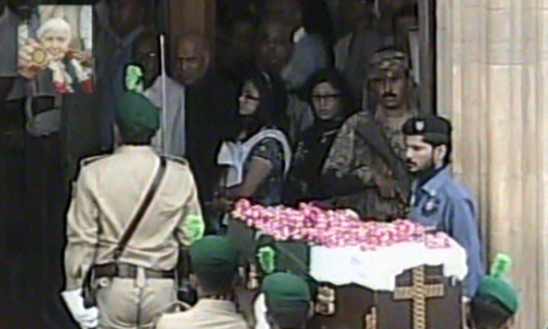State funeral for Dr Ruth Pfau underway in Karachi