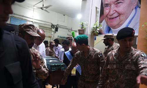 Dr Ruth Pfau laid to rest in Karachi after state funeral