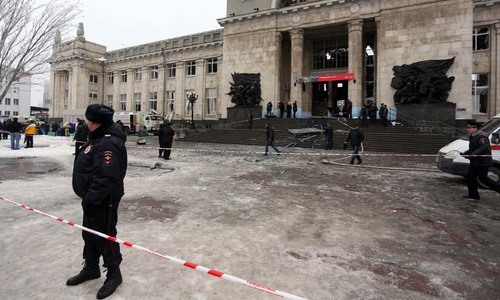 Knife attacker wounds 8 in Russia