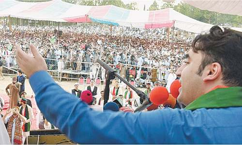 Bilawal says coming elections will be his first and Imran's last