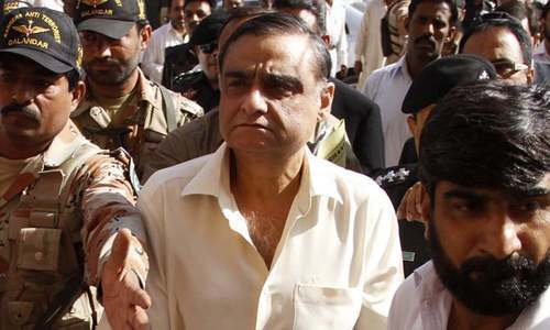 Dr Asim, Karachi mayor among seven indicted in militants' treatment case