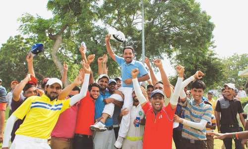 Ashfaq topples Shabbir on last hole to win CNS Open