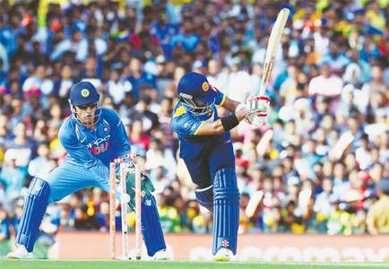 Ton-up Dhawan powers India to big win over Sri Lanka