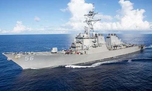 10 sailors missing after US destroyer collision off Singapore