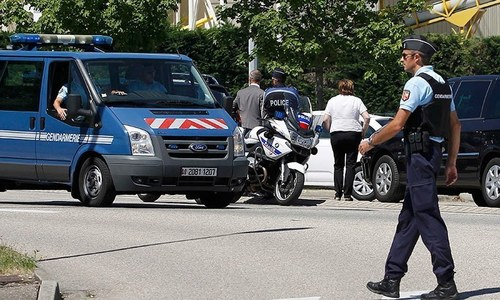 1 dead as vehicle hits two bus stops in France's Marseille