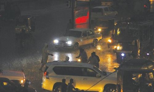 One dead, two injured in rain-related incidents in Karachi