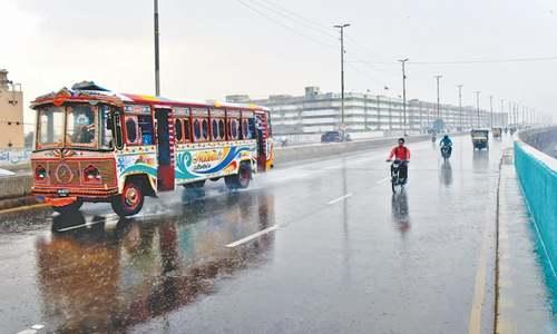 City receives shower, more rain forecast for today