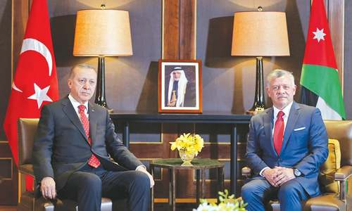 Turkey, Jordan call for 'serious' Mideast peace talks