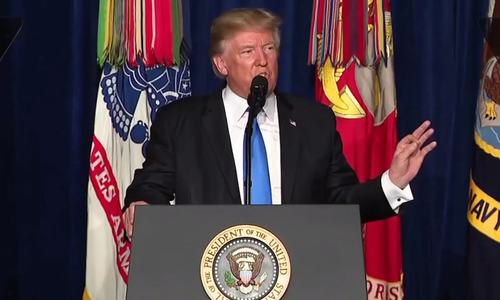 Trump backs off Afghan withdrawal, lambastes Pakistan over terrorist 'safe havens'