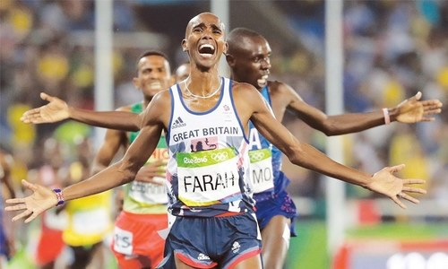 Farah bids perfect farewell on home soil