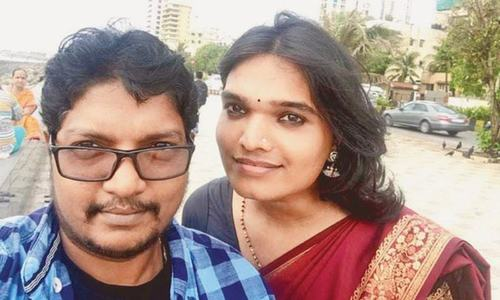 Indian transgender couple plan to marry, adopt