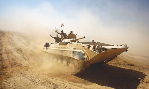 Iraqi forces retake three IS-held districts