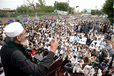 Jamaat threatens long march on Islamabad after Eid