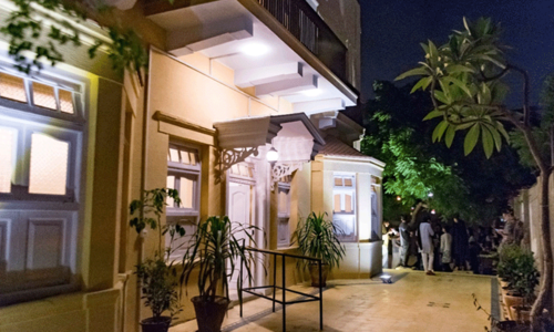 A 100-year-old house finds new life as a cultural hotspot in Karachi
