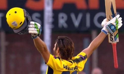 Afridi smashes century off 42 balls in county match