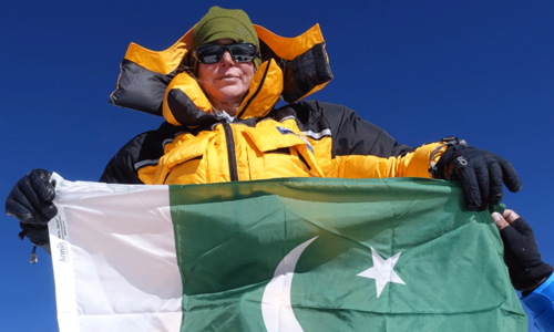 'I carried Pakistan's flag to the K2 summit as a reminder of Pak-US friendship'