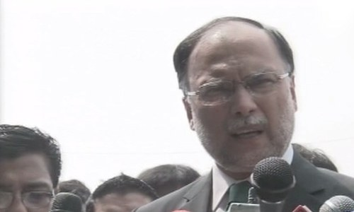 Interior minister wants Musharraf to face trial like Nawaz Sharif did