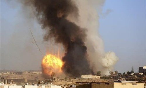 At least 30, including civilians, killed in Yemen air raids