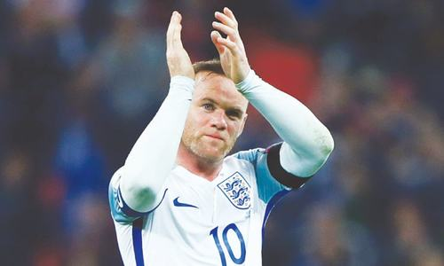 England's record-scorer Rooney ends international career