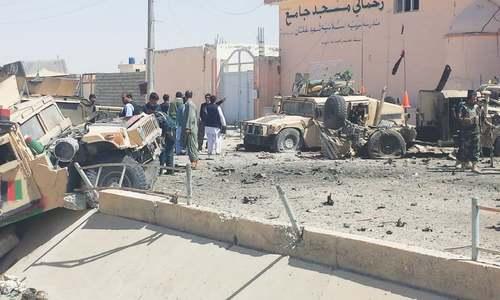 Taliban bomber kills five in Afghanistan