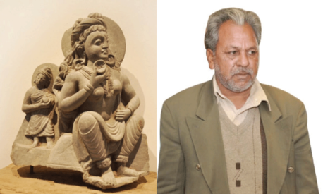 Gandharan art is Pakistan's global identity, says artist Shafique Ahmed