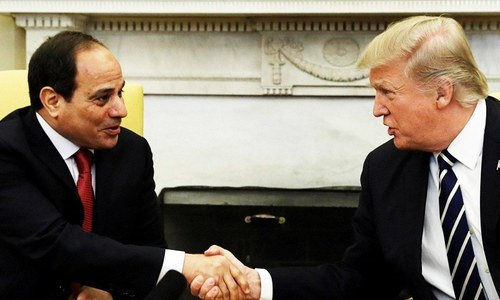 US aid cut over human rights concerns angers Egypt