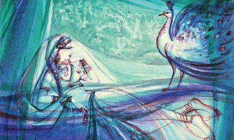 Hajra Mansoor's latest art exhibition depicts women in love