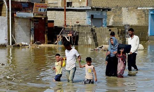 23 killed as monsoon rains lash Karachi