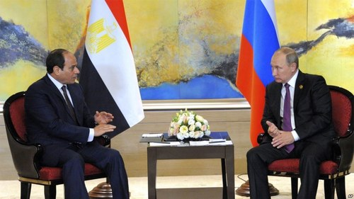 Egypt finalises deal with Russia  for first nuclear plant