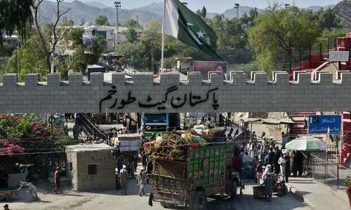 Problems with controlling movement across the Pak-Afghan border