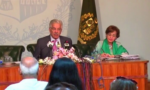 Pakistan has to react swiftly to changing regional situation: Khawaja Asif