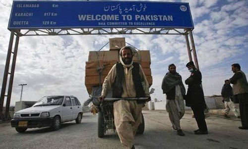 US asked to condition Afghan aid to recognition of Durand Line