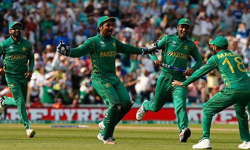 Pakistan take big step in from cold as World XI come to play