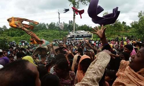 Rohingya rebels call one-month Myanmar ceasefire as exodus grows