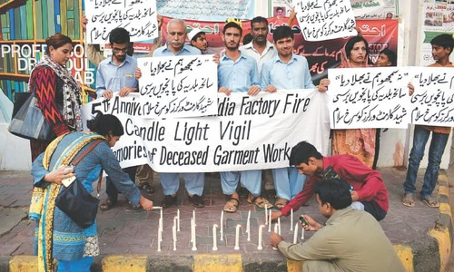 Five years on, Baldia factory fire case still at pre-trial stage