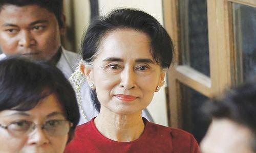 Myanmar's Suu Kyi scraps UN trip amid Rohingya crisis