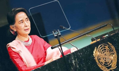 Myanmar's 'ethnic cleansing' unites Suu Kyi's party, army and public