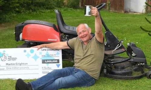 1 ملین برطانوی پاؤنڈز کے انعام سے لاعلم مالی