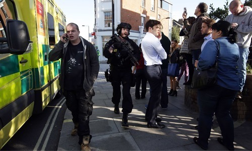 British police arrest second suspect over London train attack from Hounslow