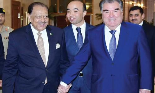 Tajikistan invited to benefit from CPEC
