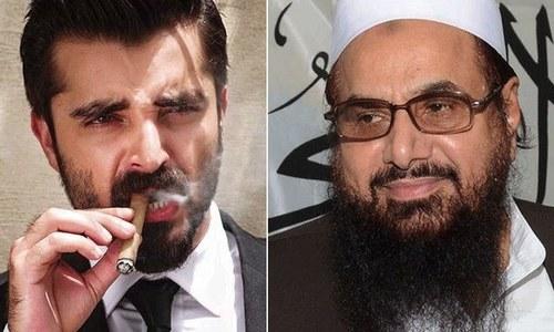 حافظ سعید کی تعریف میں ٹوئیٹ پر حمزہ عباسی کو تنقید کا سامنا