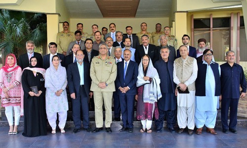 COAS seeks more interaction with parliament