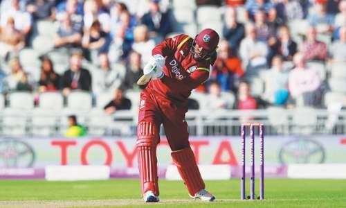 Holder gives WI hope in series opener at Old Trafford