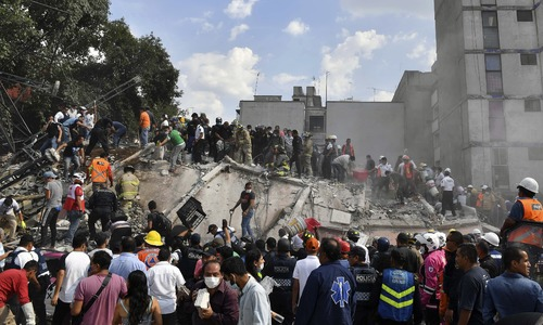 At least 149 killed as 7.1 magnitude quake rattles buildings in Mexico
