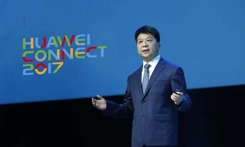 Huawei commits to building one of world's five 'clouds'