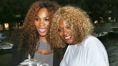 Serena Williams thanks her mom for teaching her the 'power of a black woman'