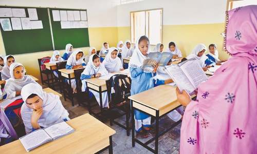 Upgraded JICA-run school makes small girls dream big