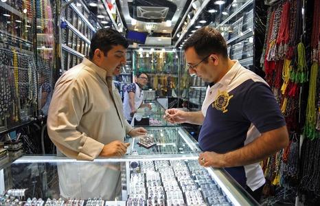 Pilgrims bring boom times for Iraqi gem traders