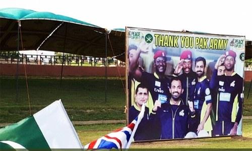 Miranshah hosts cricket Peace Cup 2017 as UK Media plays Pakistan XI