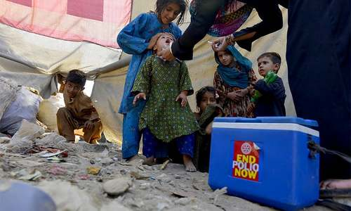 Minor diagnosed with polio virus in KP despite being vaccinated